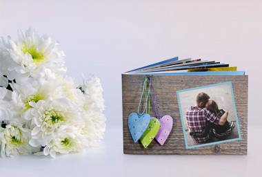 Fototaschenbuch für den Valentinstag
