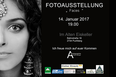 "Fotoausstellung ""Faces"""